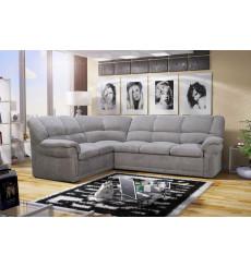 Canapé d'angle convertible Alexia Gris 270 x 220 cm