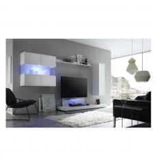 Ensemble meuble tv MILANO Blanc 340 cm