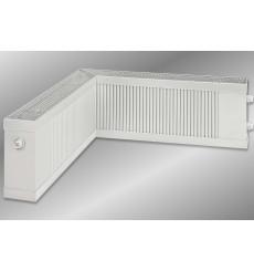 Lit double avec tête de lit capitonnée 160x200 cm blanc
