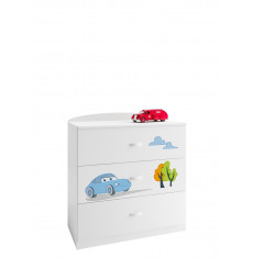 COMMODE CARS 90 CM
