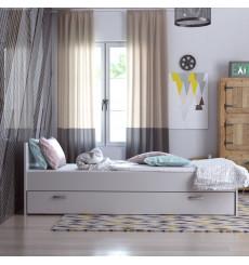 Lit adulte SOFIA avec lit tiroir