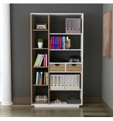Bibliothèque avec tiroirs LUMA