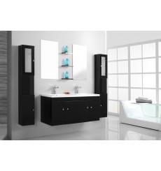 Meuble de salle de bain BARCELONE noir