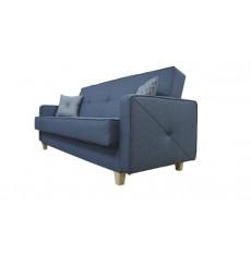 Canapé convertible CHAMBORD bleu