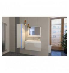 Meuble salle de bain EMERENCE Blanc laqué