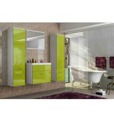 Meuble salle de bain MAGUY pistache