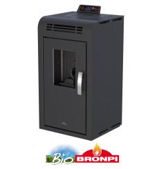 Poêle à pellet LANGELY 9 kW noir