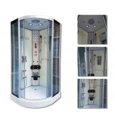 Cabine de douche POSEIDON II 100x100x215 cm
