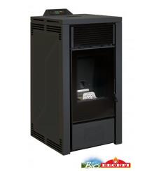 Poêle à pellets HYDRO ALBERTA 16 kW noir