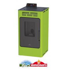 Poêle à pellets WILLIAMS 9 kW vert