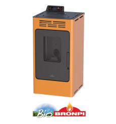 Poêle à pellets WILLIAMS 9 kW orange