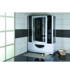 Combiné baignoire-douche SARA hammam et balnéo 145x85x220 cm