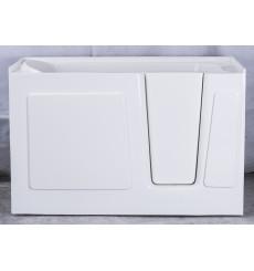 Baignoire à porte balnéo CALYPSO 119x76x96,5 cm droite ou gauche