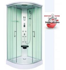 Cabine de douche SCALA 90x90x215 cm BLANC