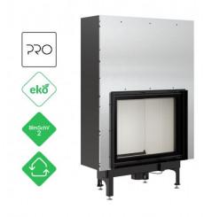 Insert cheminées à bois NADINE porte guillotine 16.5 kW