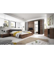 Chambre complète INDIRA 160x200 cm