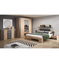 Chambre complète RAMIA 160x200 cm