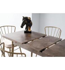 Ensemble table et 4 chaises Bruno