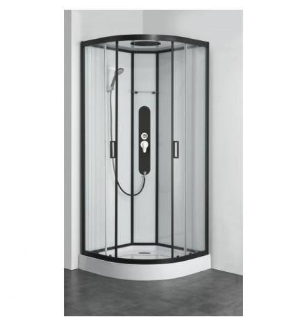 Cabine de douche VANDERA 90x90x225 cm NOIR