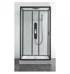 Cabine de douche VANDERA III 120x80x225 cm montage rapide