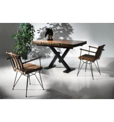 Ensemble table et 4 chaises Paolina