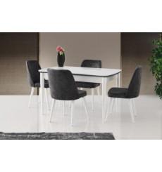 Ensemble table et 4 chaises Braga