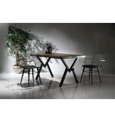 Ensemble table et 4 chaises Tania