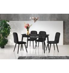 Ensemble table et 4 chaises Sintra