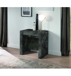 Table/console extensible 54-252 cm oxyde