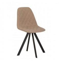 Lot de deux chaises LIYA 4L Black en plusieurs couleurs