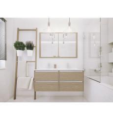 Meuble de salle de bain FONTE II 60cm, chêne sonoma