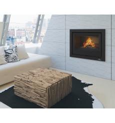 Insert cheminée à bois Holguin avec turbine 19 kW