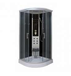 Cabine de douche LEDA 90x90x215 cm NOIR
