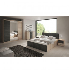Chambre adulte MASHKA 160x200 cm