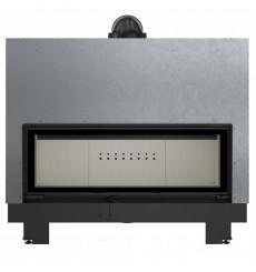 Insert cheminées à bois MB 130CM porte guillotine 21 kW