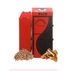 Chaudière Bois et Granulés automatique DUO CALDEIA 51 KW