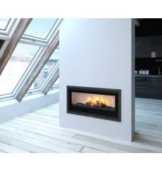 Insert cheminée à bois BOMA -90 - 13 KW avec turbine