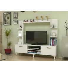 Ensemble meuble TV RENA Blanc