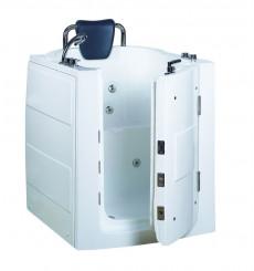Baignoire à porte balnéo ASTOVE, 95*85*100 cm