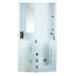 Combiné baignoire à porte balnéo ROLAS