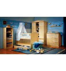 Chambre à coucher bébé complète DOLLY