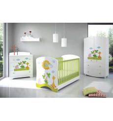 Chambre à coucher bébé complète CRETA