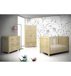 Chambre à coucher bébé complète NATURA