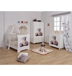 Chambre à coucher bébé complète TEDDY