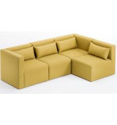 Canapé d'angle reversible modulaire Halden