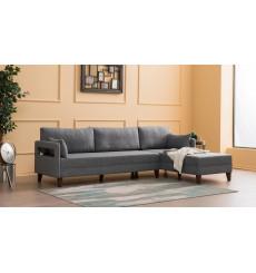 Canapé d'angle Ugao 275 x 175 CM