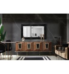Buffet ARTEMIS 4 portes 1 tiroir + miroir