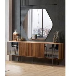 Buffet NATIVO 4 portes + miroir