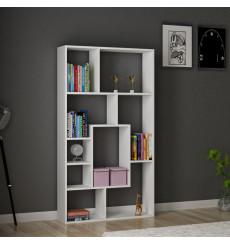 Bibliothèque Lily blanc