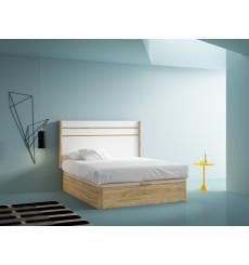 Tête de lit Arizona 160 cm Cobre Blanco